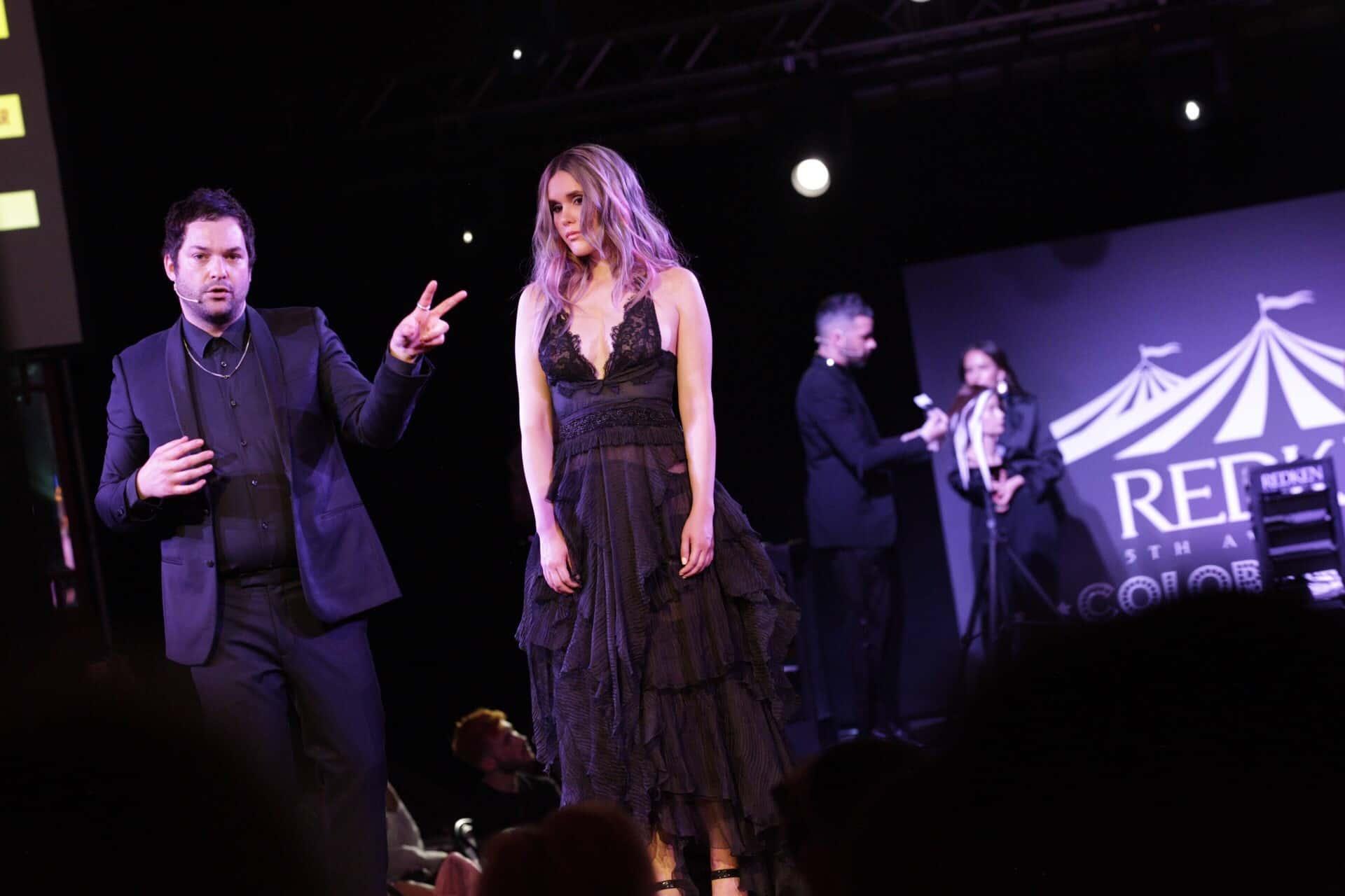 Iñaki Alonso durante el show en colaboración con Sean Godard