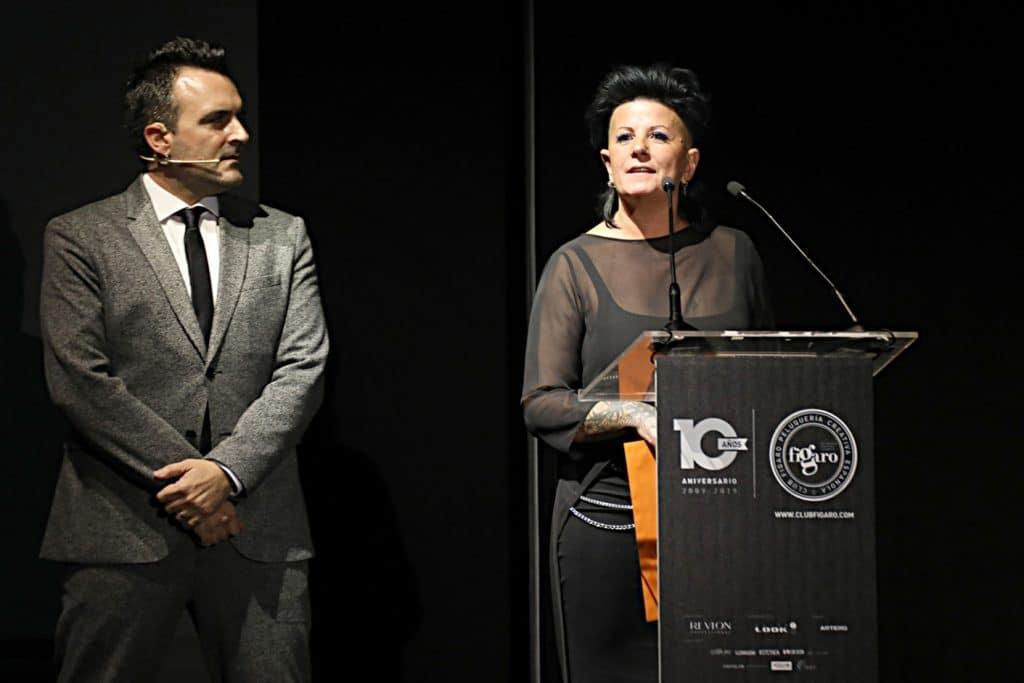 Anna Barroca en los Premio Figaro 2019
