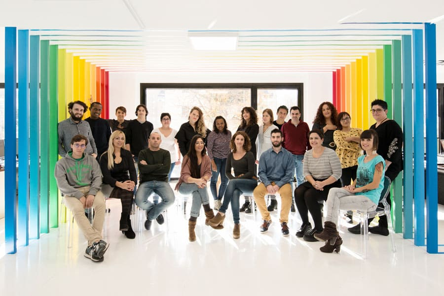 Blow Marketing team foto de archivo