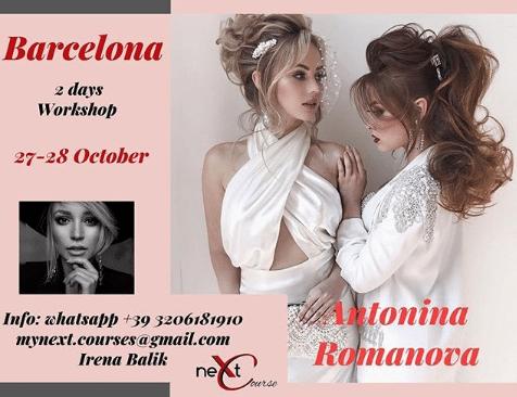 Curso Barcelona Antonina Romanova