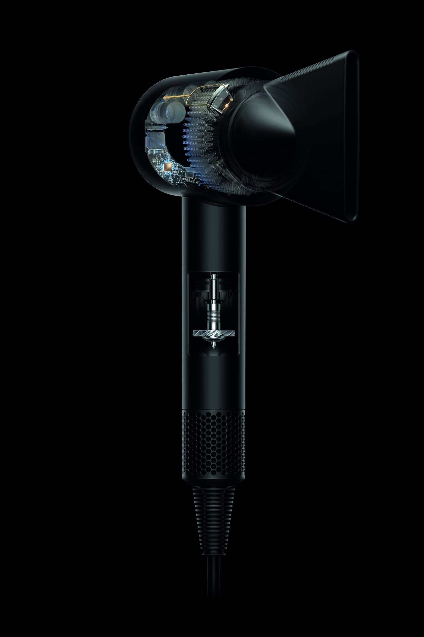 HD02; tech cutaway, 3 quarter right Xray