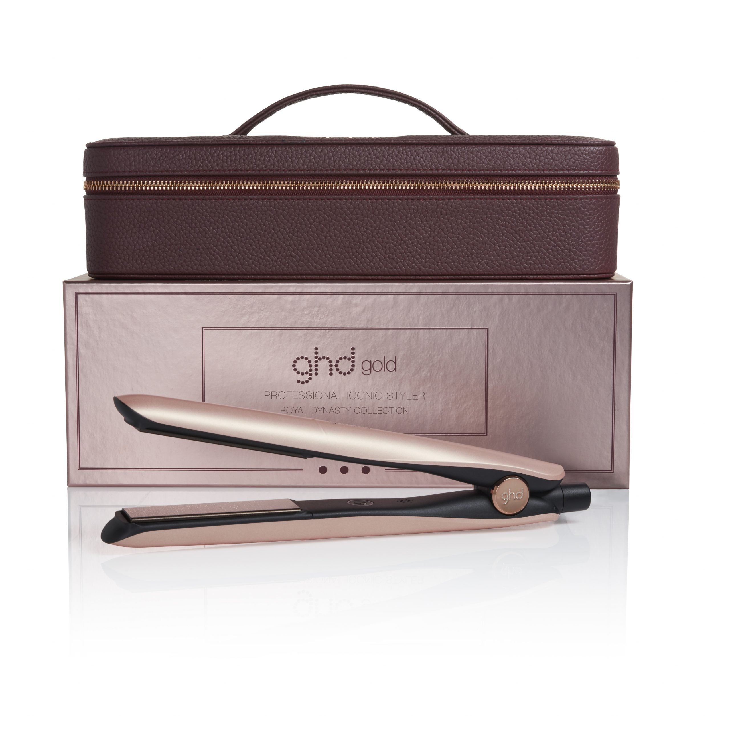 LIMITED EDITION ROSE GOLD Box Vanity case Gold scaled
