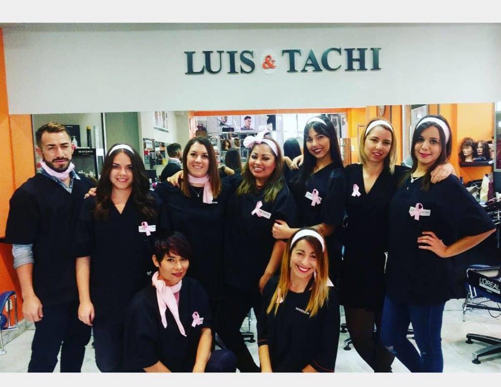 Luis&Tachi_Equipo contra el cáncer de mama