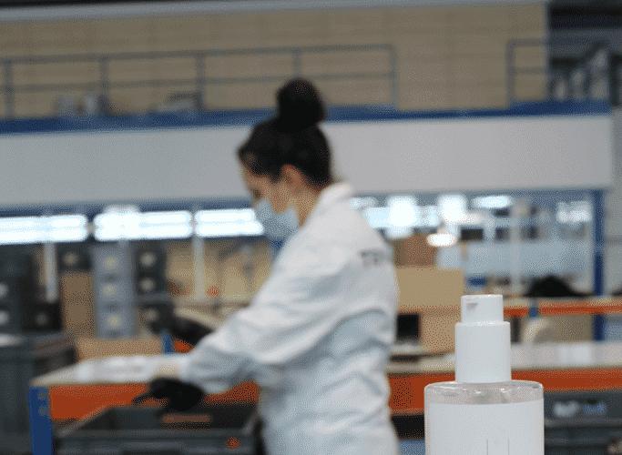 Medidas de seguridad en la fabrica de Termix