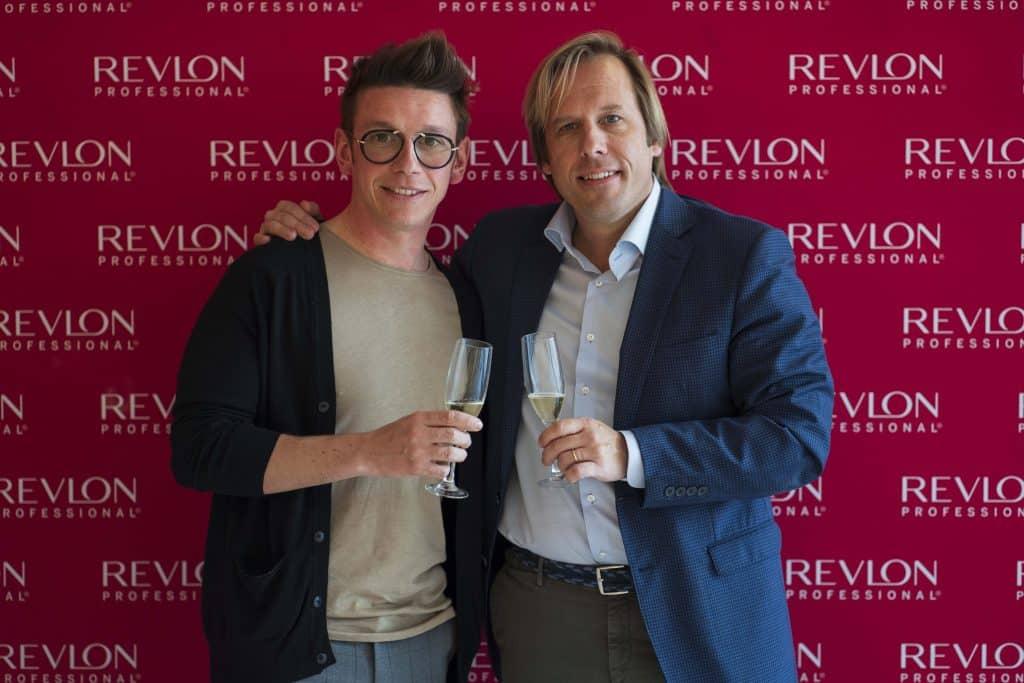 Revlon Professional Carlos Valiente y Charles Waters