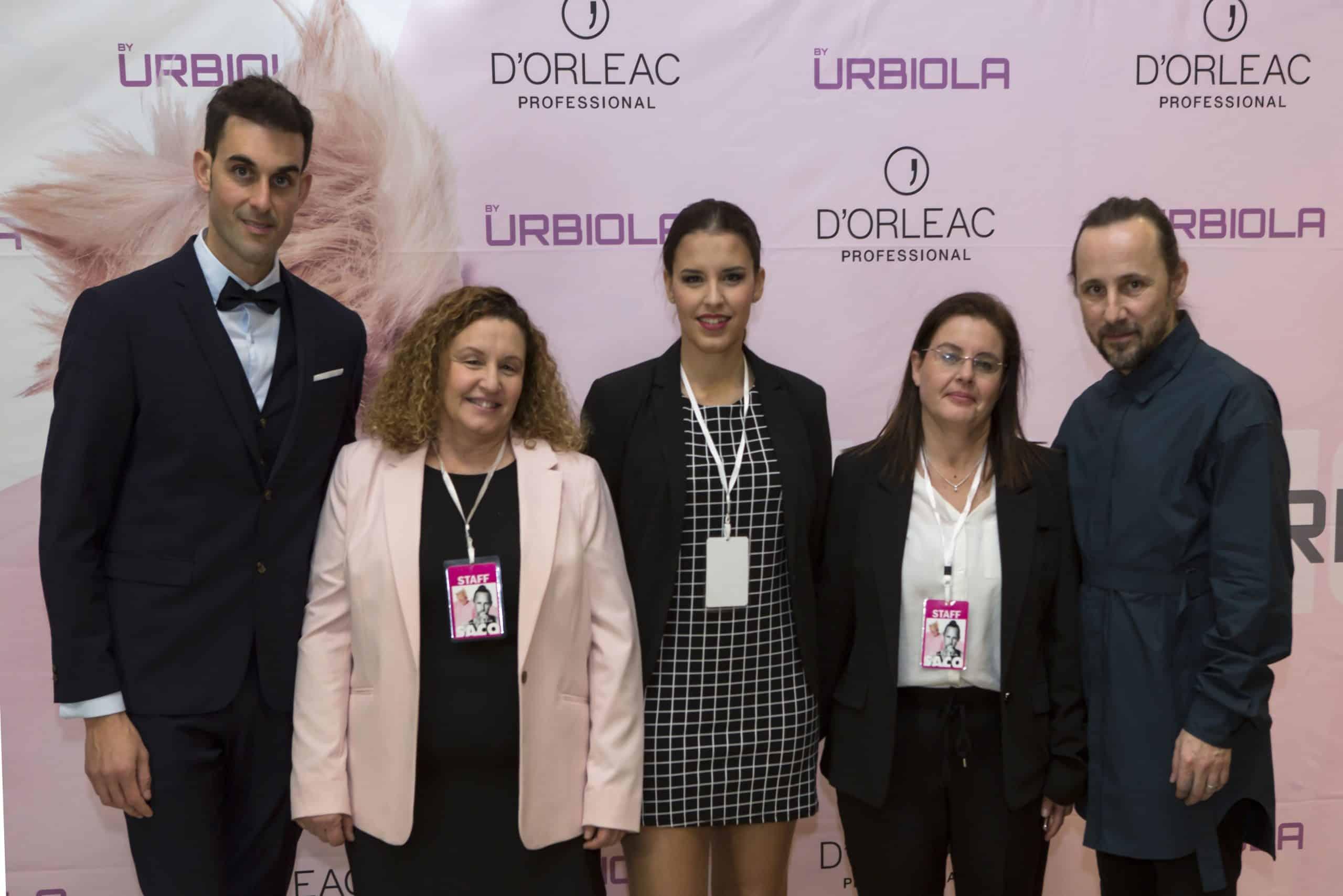 De izquierda a derecha: Javier Carcedo (director RRHH), Belén Aldecoa (directora de desarrollo), Pilar Ávila (responsable eventos), Marta Aldecoa (responsable financiera) y Richard Ashforth (SACO).