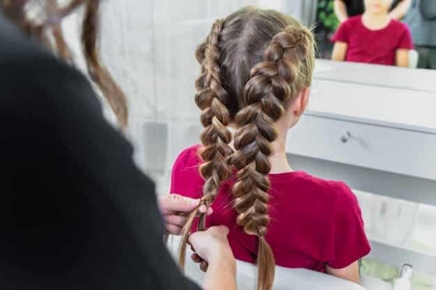 peinados simples para niñas pequeñas