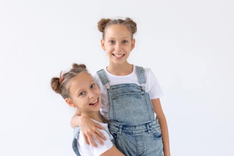 moños para niñas