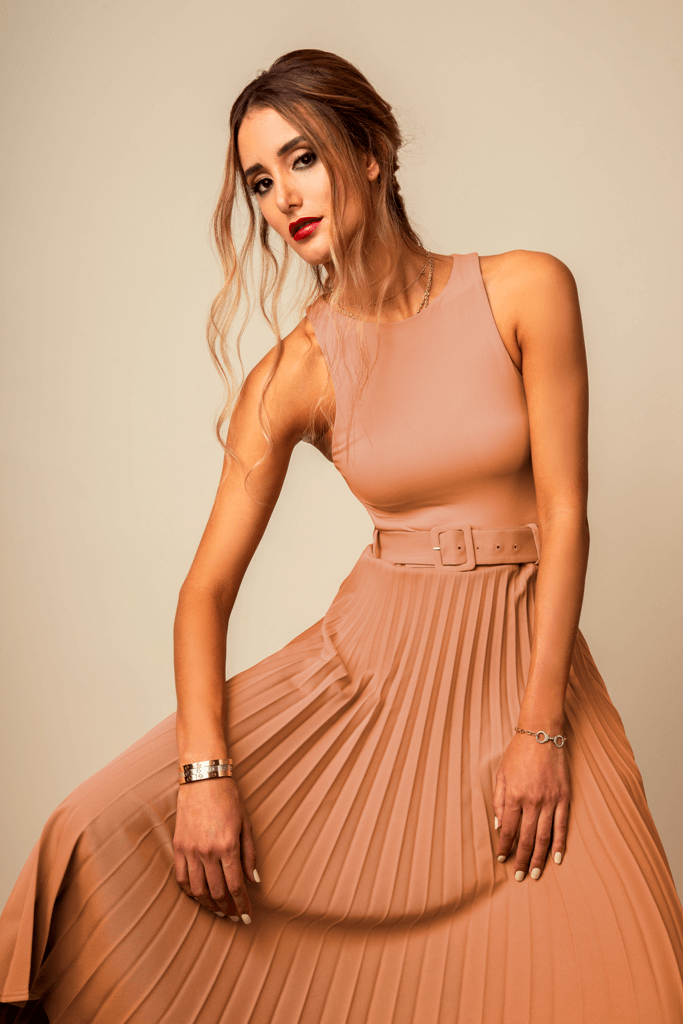 Messy Effortless Half Midi @Ivan Rodriguez 3