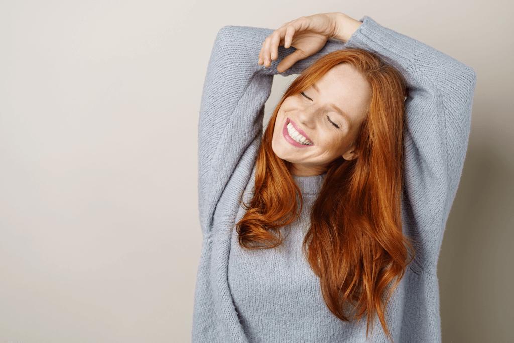 All things hair natural ginger hair 1