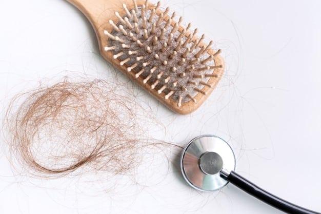 caida de cabello en mujeres