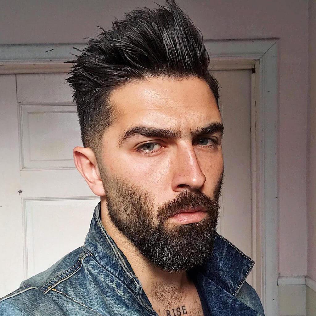 El modelo fotografo e instagramer Chris John Millington que ha popularizado en redes sociales del corte spiky