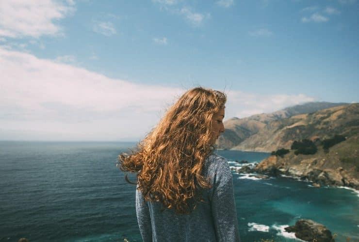 agua de mar para el pelo