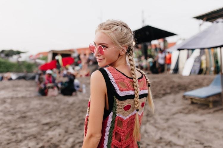 peinados para ir a la playa