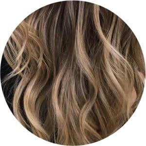 Iluminación de cabello