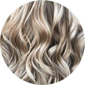 iluminación en el pelo